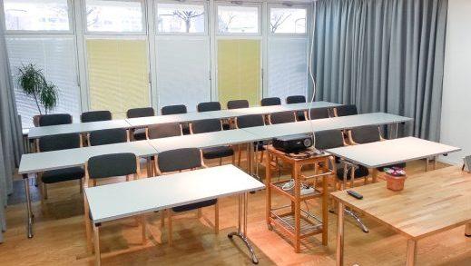 Seminarraum & parlamentarische Aufstellung